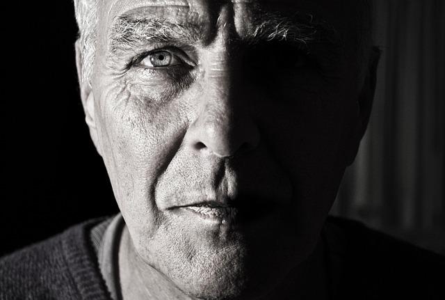 Gesicht eines Mannes