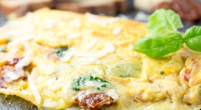 Omelett Calzone