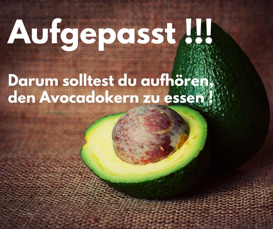 Aufgepasst! Darum solltest du den Avocadokern nicht essen