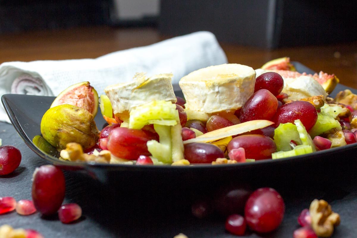 "Gratinierter Ziegenkäse Salat ""Monsieur Seguin"""