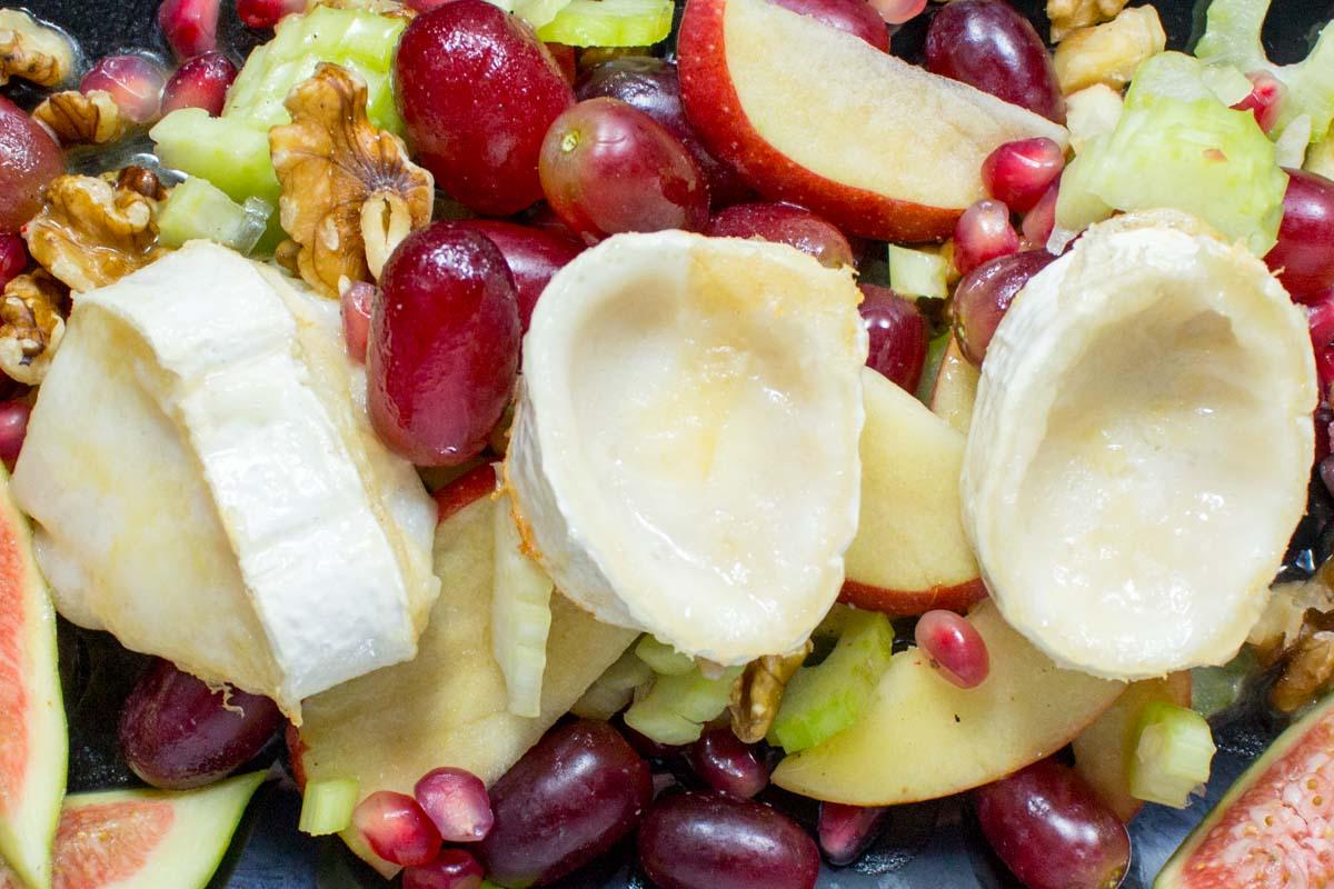 Gratinierter Ziegenkäse Salat Monsieur Seguin