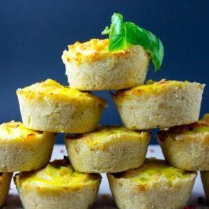 Lachs Lauch Quiche Muffins