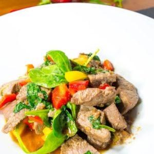 Wow! Fantastisch koreanisches Bio Steak in scharfer Sesam Marinade