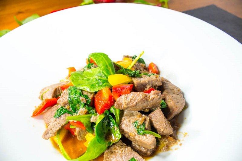 """Wow! Fantastisches """"Korean-Style"""" Bio-Steak in scharfer Sesam Marinade"""