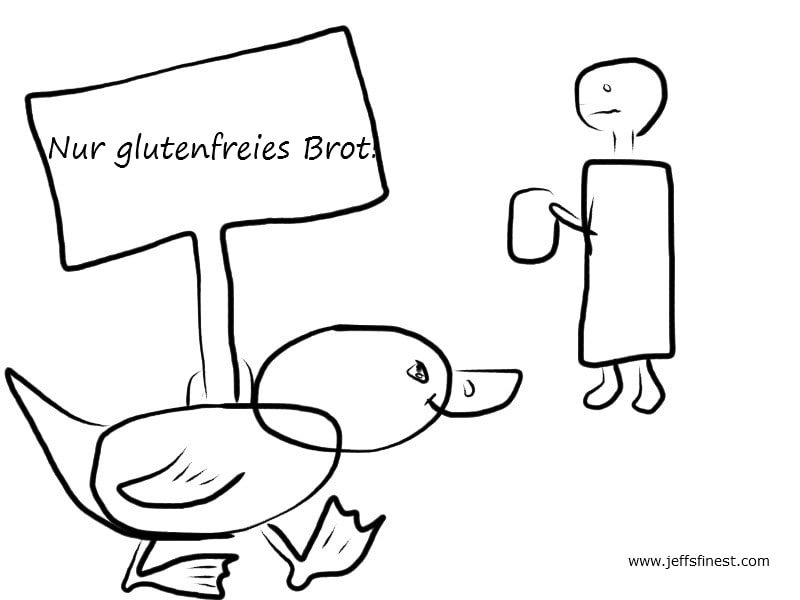 Über Gluten, Glutenintolleranz (Zöliakie) und warum du vermutlich aus anderen Gründen Magenprobleme hast