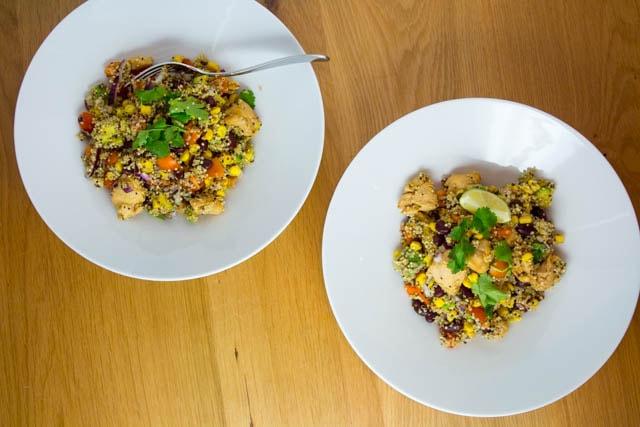 Womöglich das beste Rezept der Welt - Mexikanische Burrito Bowl mit Quinoa