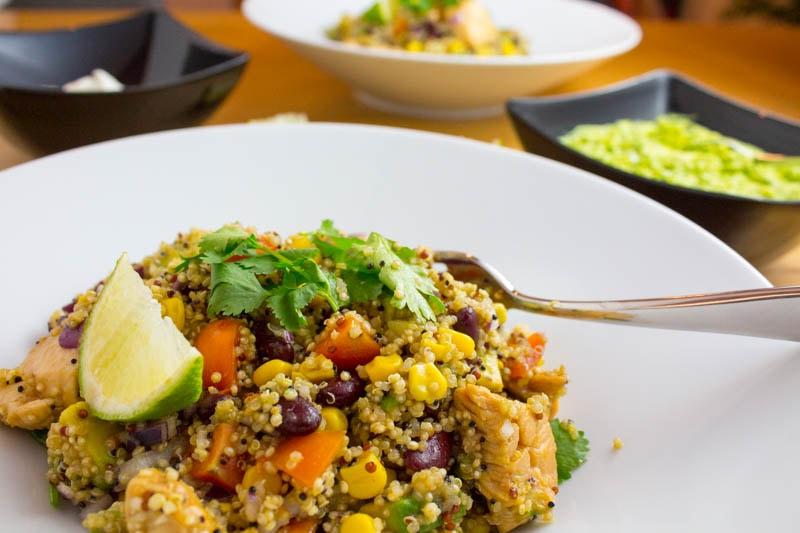 Womöglich das beste Rezept der Welt – Mexikanische Burrito Bowl mit Quinoa