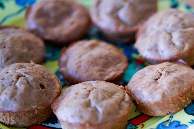 Fabelhafte Kaffee (Espresso) Bananenbrot Muffins