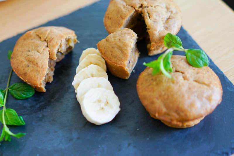 Fabelhafte Kaffee-(Espresso) Bananenbrot Muffins (VIDEO)