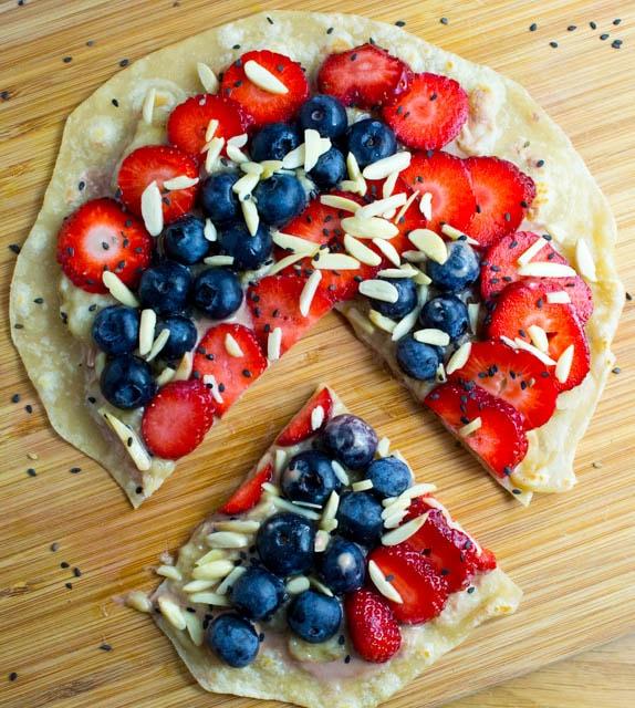 Super geniale Obst-Früchte Mini-Wraps zum Frühstück ala Jamie Oliver
